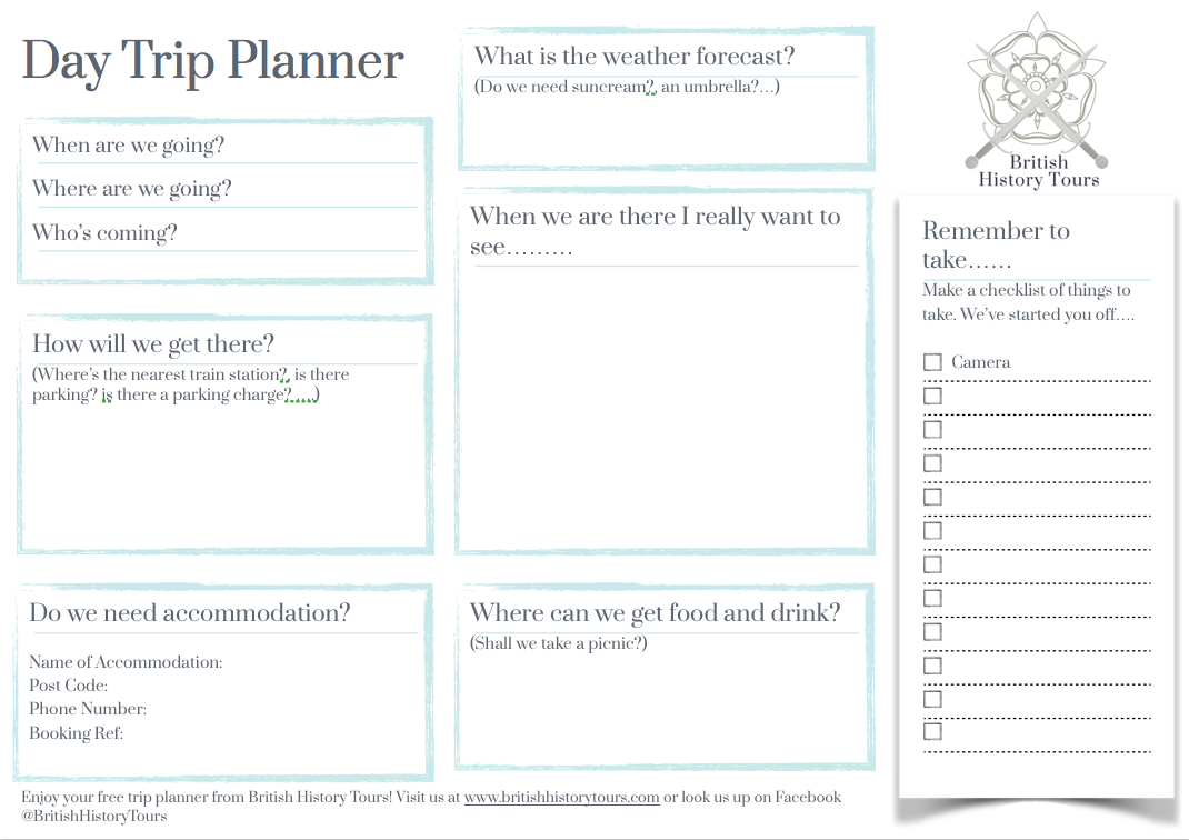 Image of Day Trip Planner