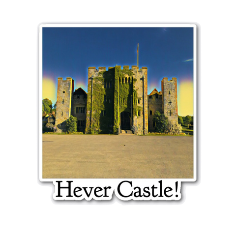 Hever Castle Sticker
