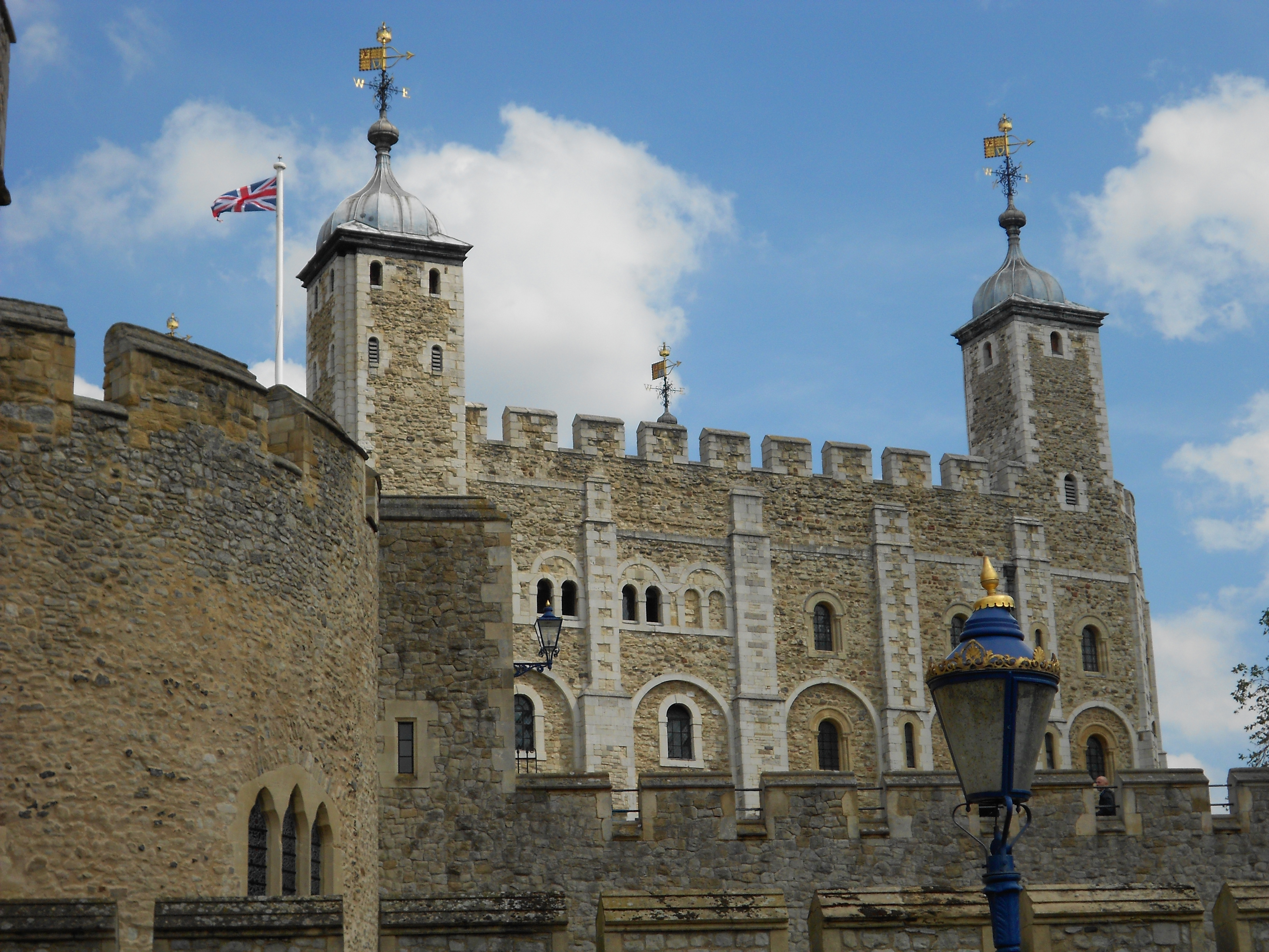 Tower Of London With Wall